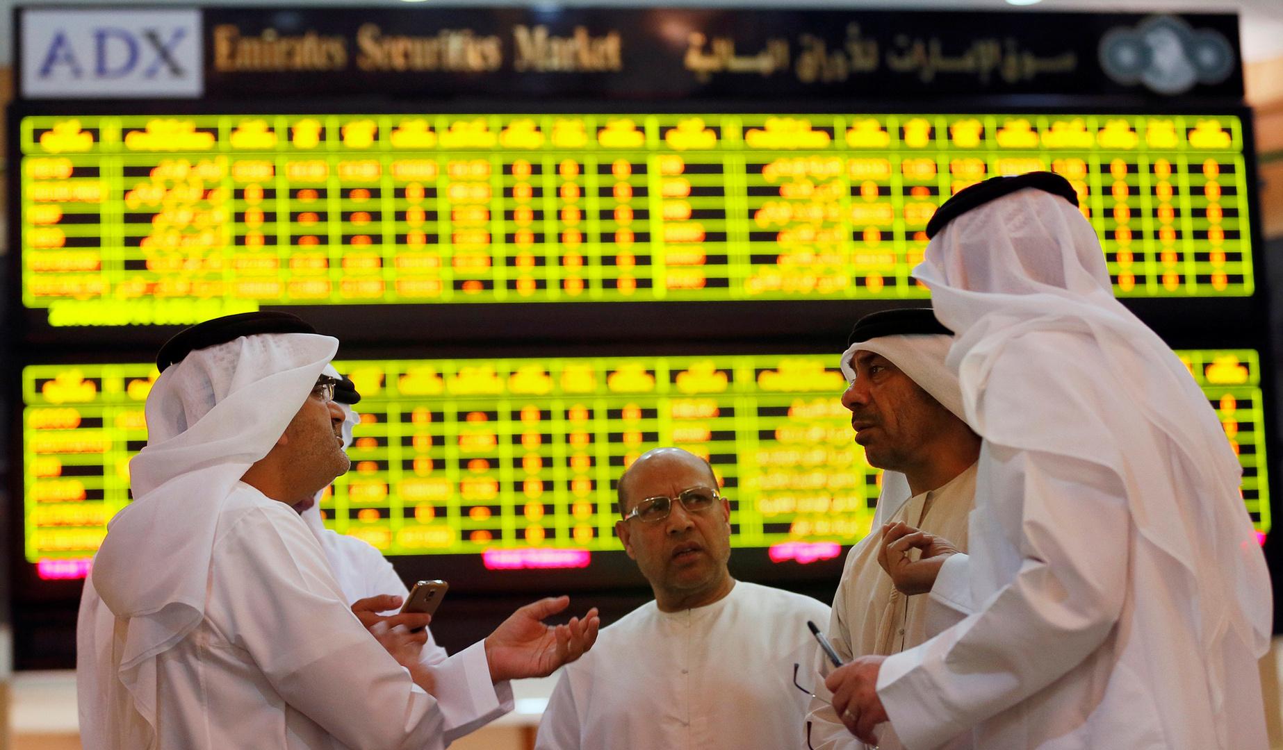مكاسب لمعظم بورصات الخليج وبورصة أبوظبي تسجل مستوى مرتفعا