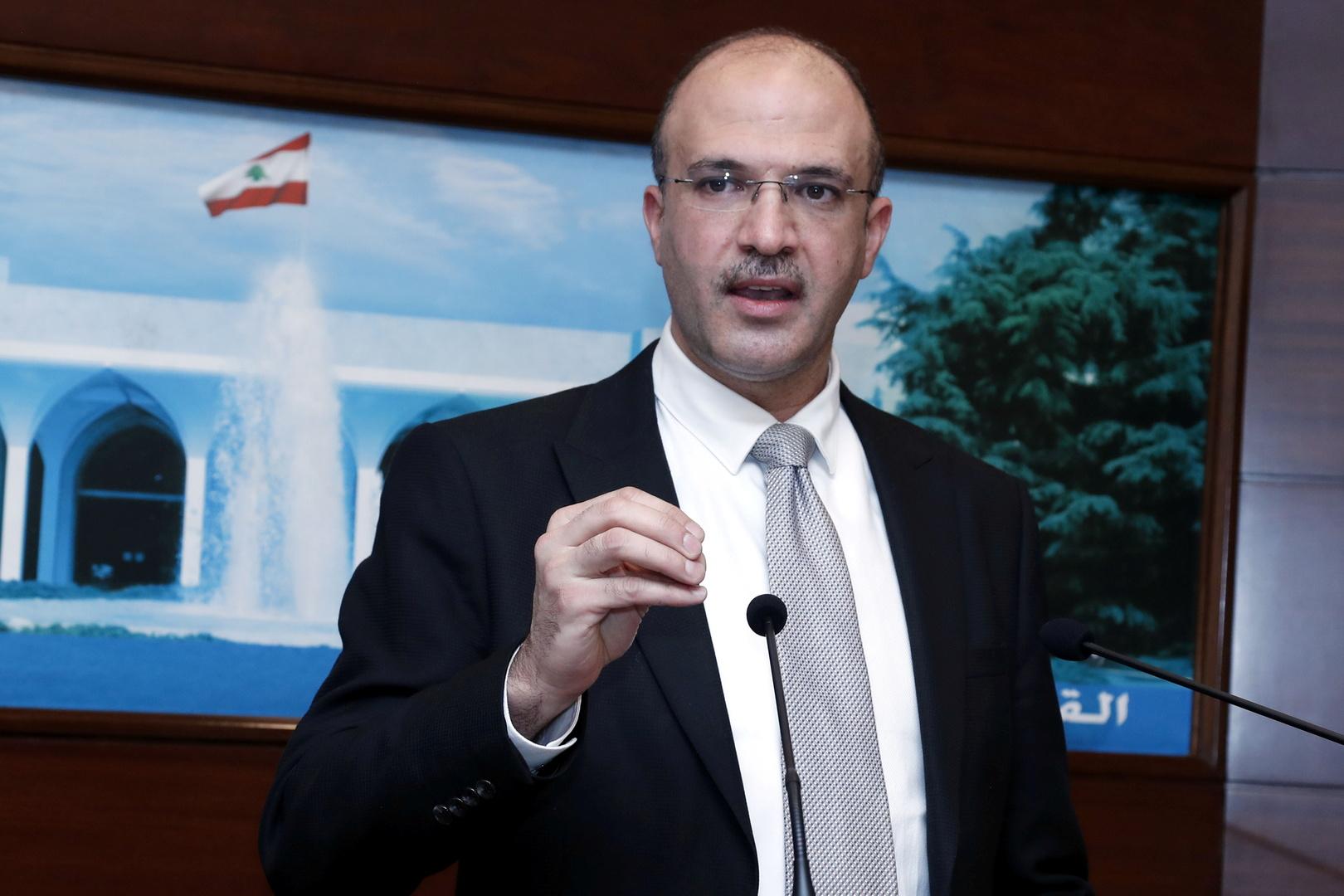 وزير الصحة اللبناني: الدواء الإيراني يستوفي الشروط والأزمة تجبرنا على طلب المساعدة من أصدقائنا