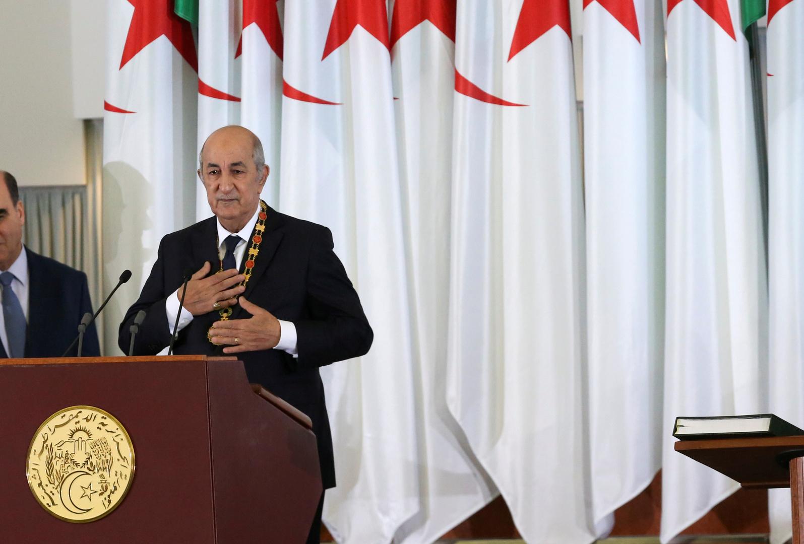 تبون: لا وجود لسجناء رأي في الجزائر