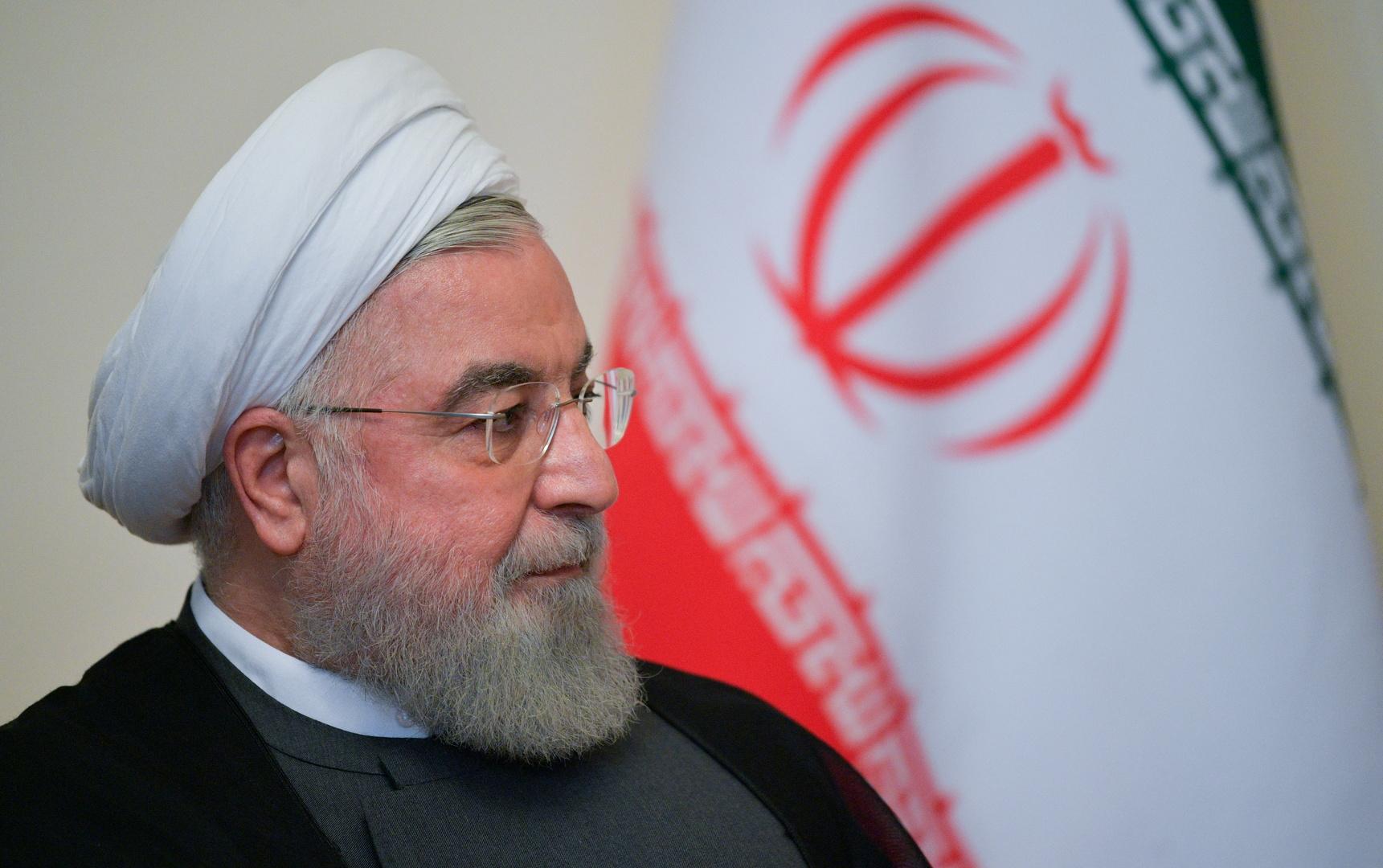 الرئيس الإيراني السابق حسن روحاني