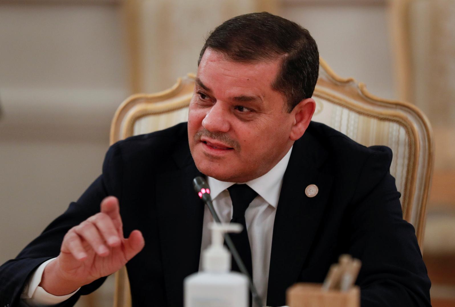 الدبيبة: لا يمكن للجيش أن ينتسب لشخص مهما كانت صفته بل هو جيش الليبيين جميعا