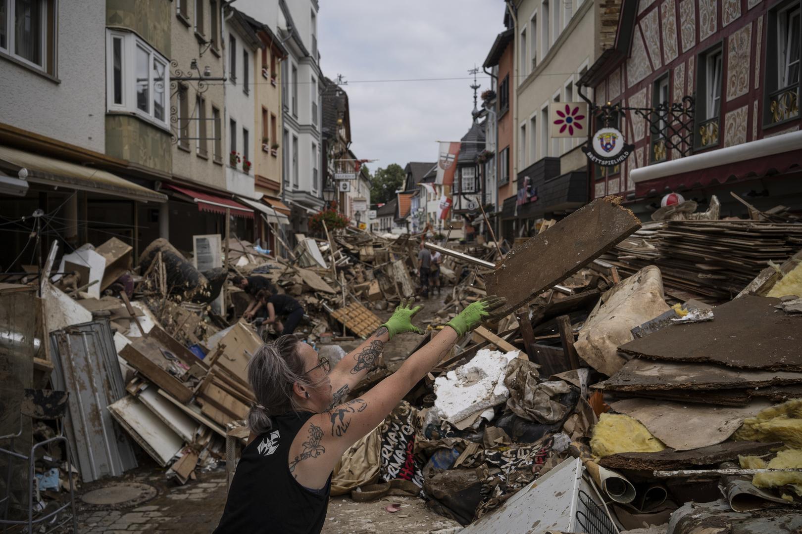 ألمانيا: 58 مليار يورو مساعدات للمناطق المتضررة بالفيضانات