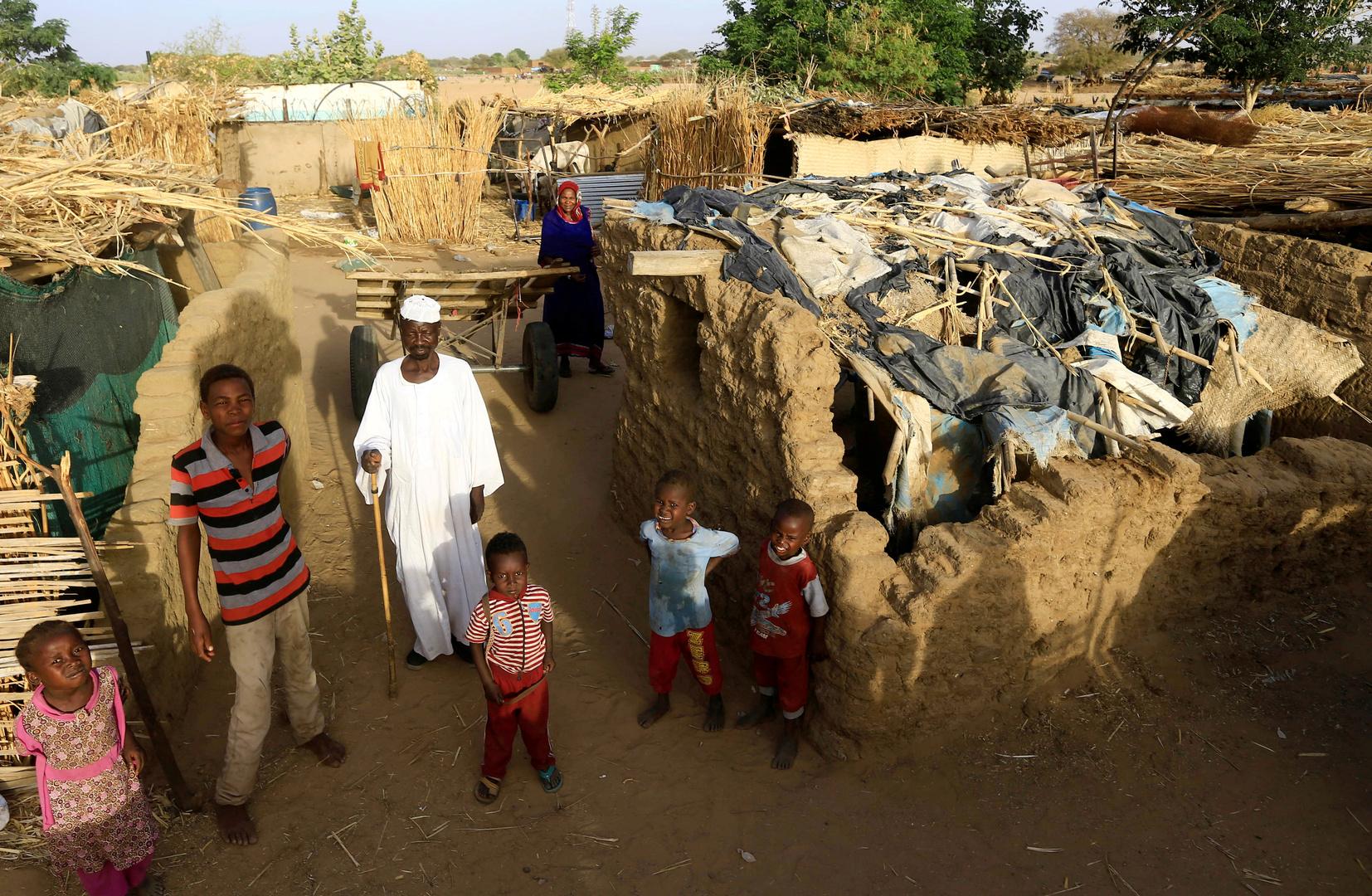 قرية في إقليم دارفور السوداني