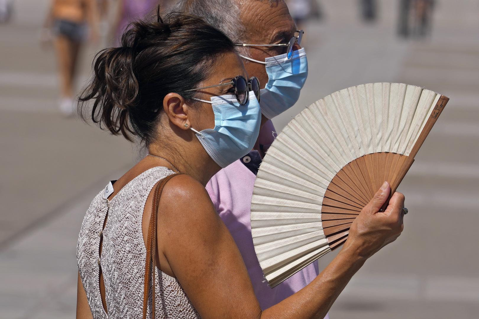 إسبانيا والبرتغال تستعدان لخطر حرائق الغابات وسط موجة حر