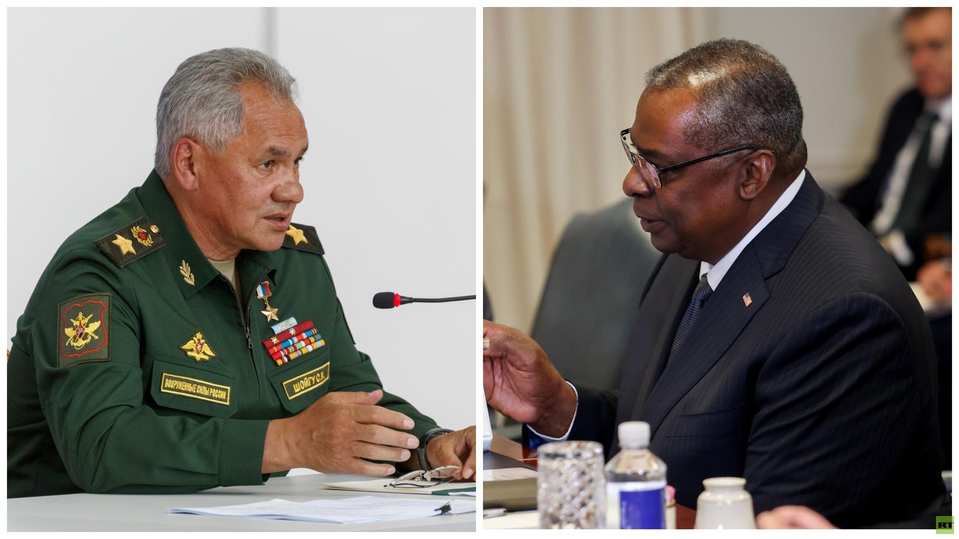 وزيرا الدفاع الروسي والأمريكي يبحثان الاستقرار الاستراتيجي والأمن الدولي