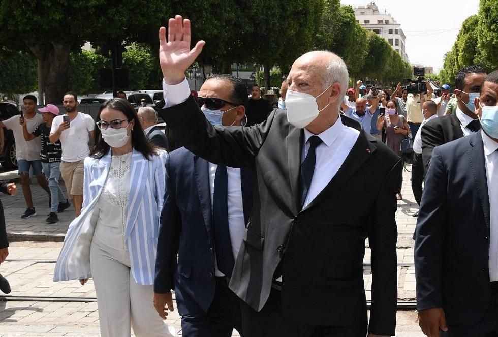 الرئيس التونسي قيس سعي