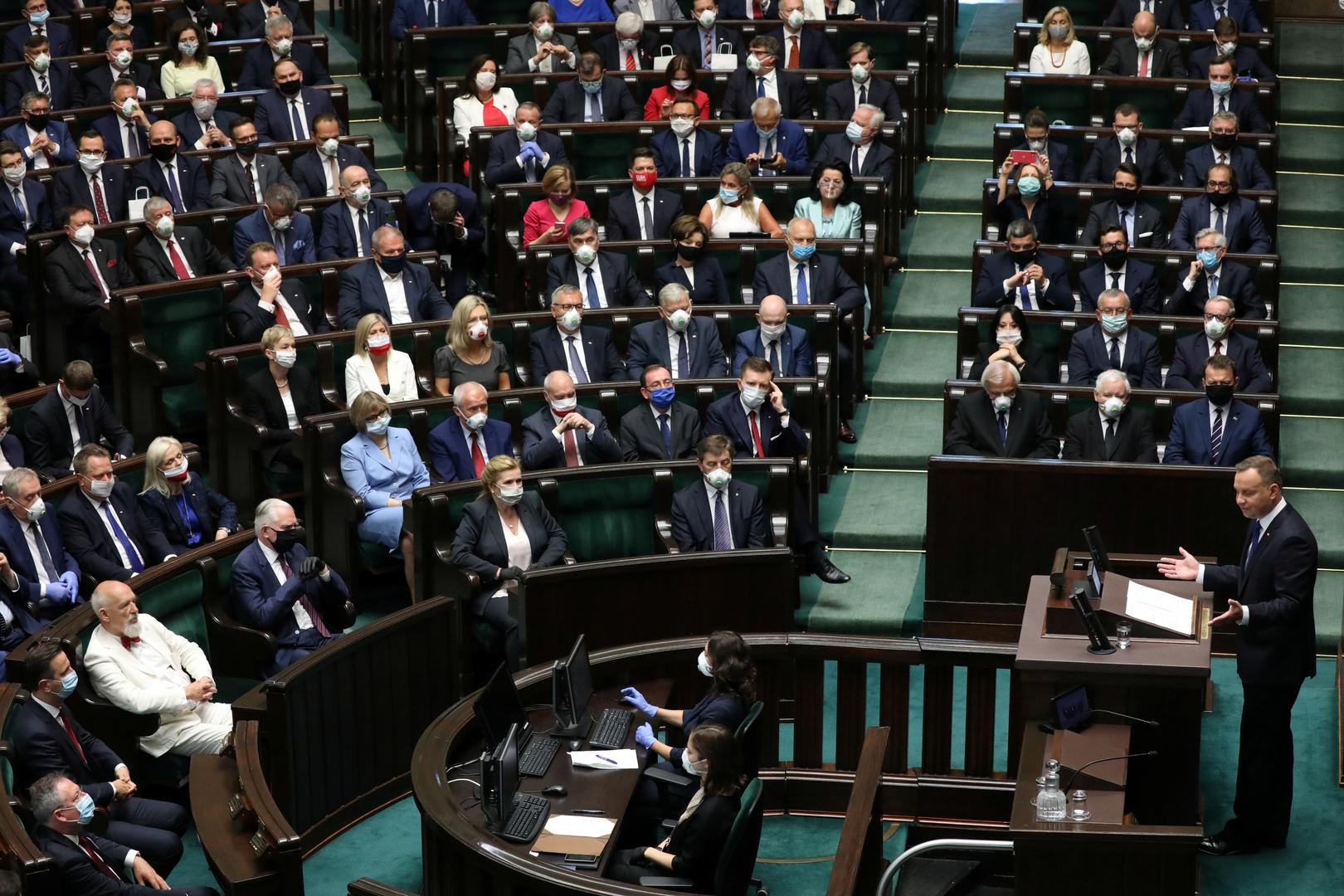 البرلمان البولندي، أرشيف