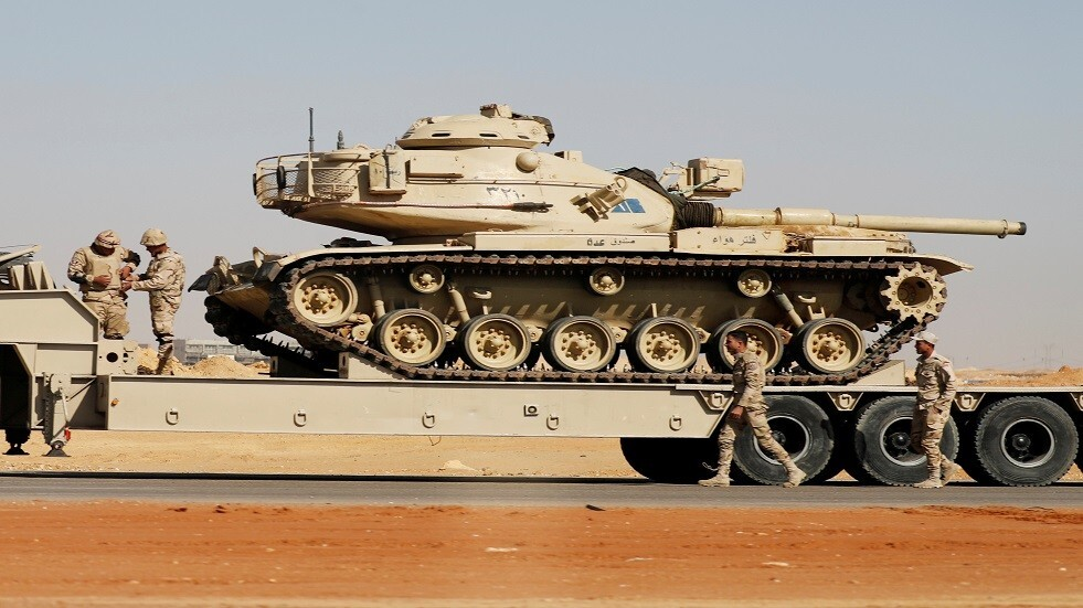 الجيش المصري يعلن مقتل وإصابة 9 من جنوده وتصفية 13 مسلحا في سيناء