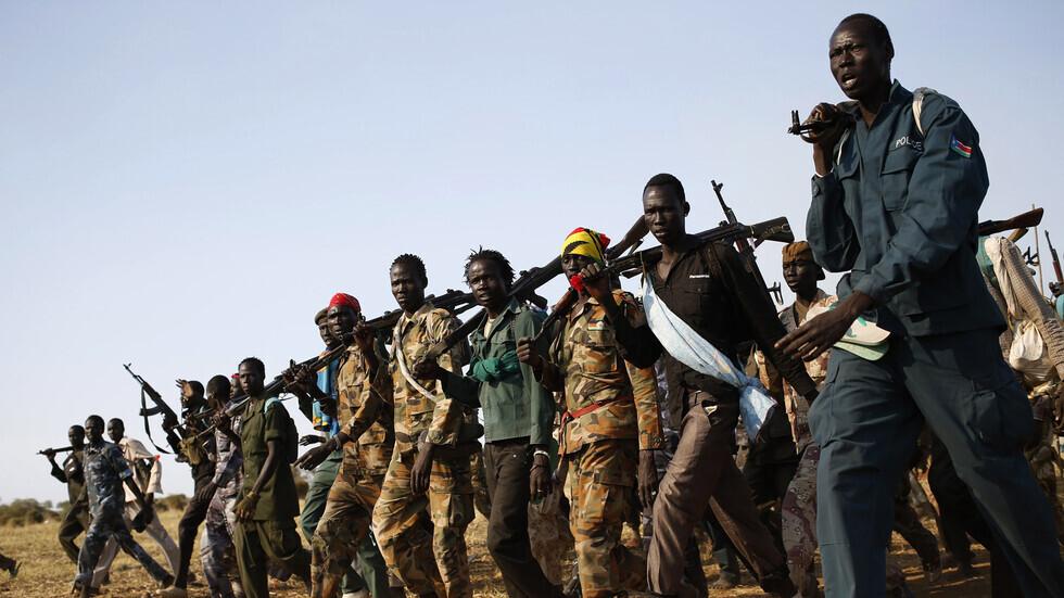مسلحون في دولة جنوب السودان