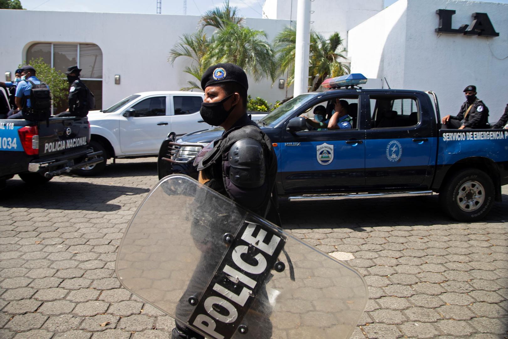نيكاراغوا.. الشرطة تداهم مكتب إحدى الصحف المنتقدة للسلطة