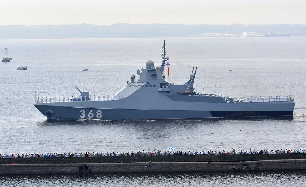 سفن من أسطول بحر قزوين الروسي تتوجه إلى إيران