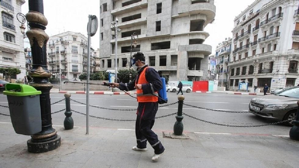 تدابير احترازية ضد كورونا في الجزائر - أرشيف