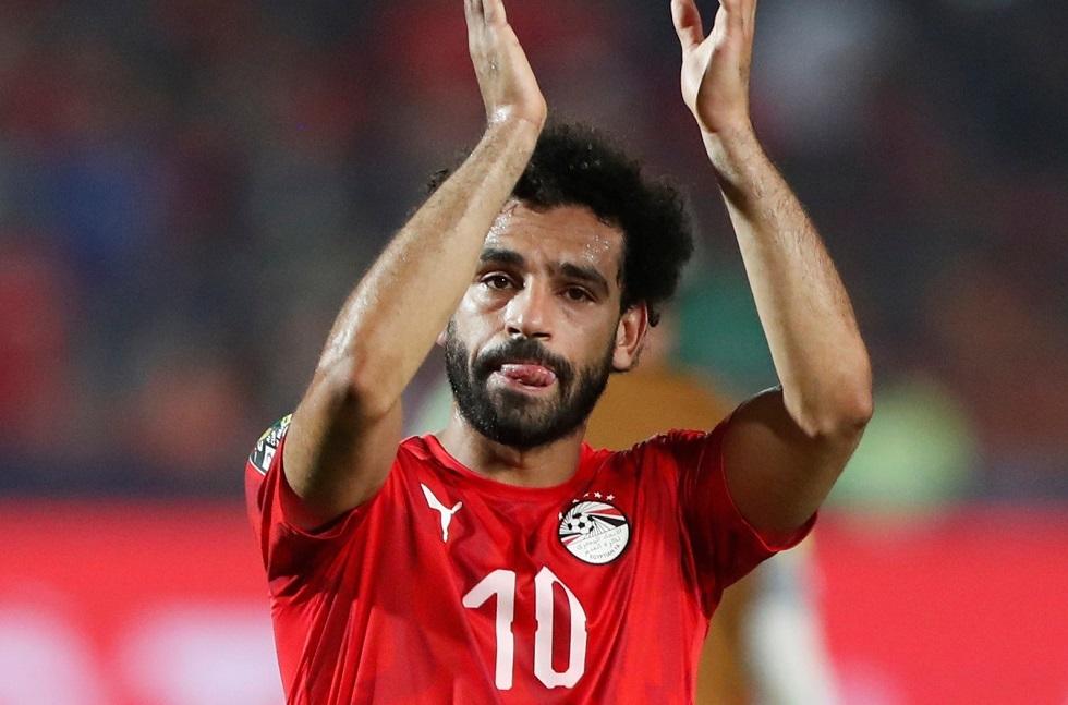 لا عب منتخب مصر ونجم ليفربول الإنجليزي محمد صلاح