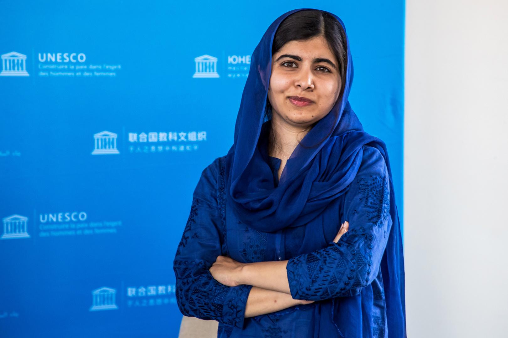 ملالا يوسف زاي تعرب عن قلقها على النساء والأقليات بعد سيطرة