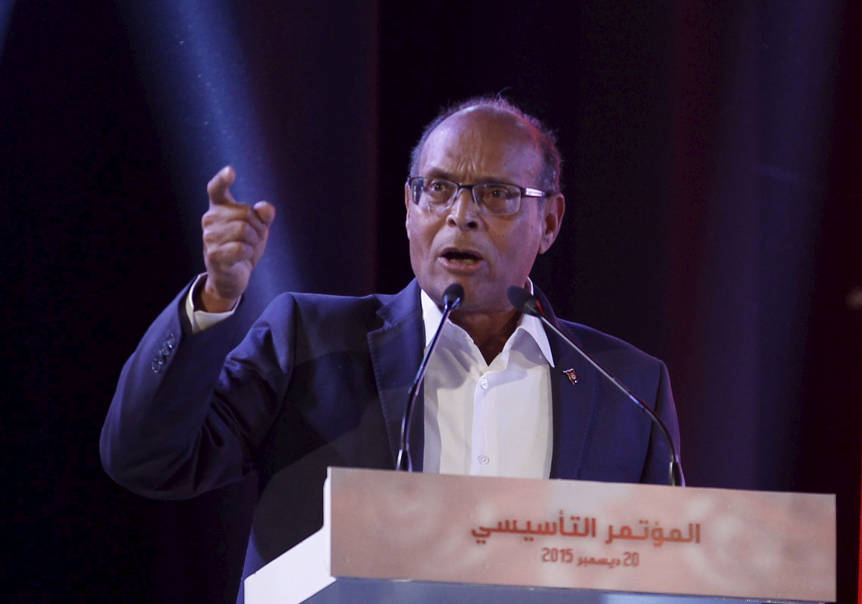 المنصف المرزوقي:  تونس مثخنة بالجراح بسبب