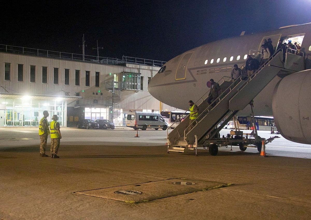 الخارجية الألمانية: نجحنا في إجلاء 7 أشخاص فقط على متن طائرتنا الليلة الماضية