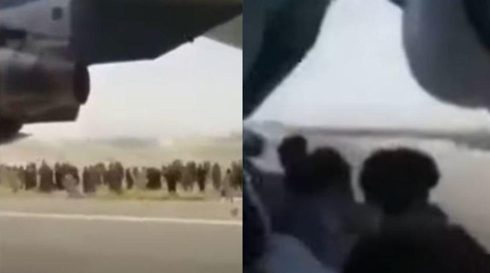 بايدن: لو عرضنا على المتعاطفين معنا مغادرة طاجيكستان لرأينا الناس يتعلقون بعجلات الطائرة