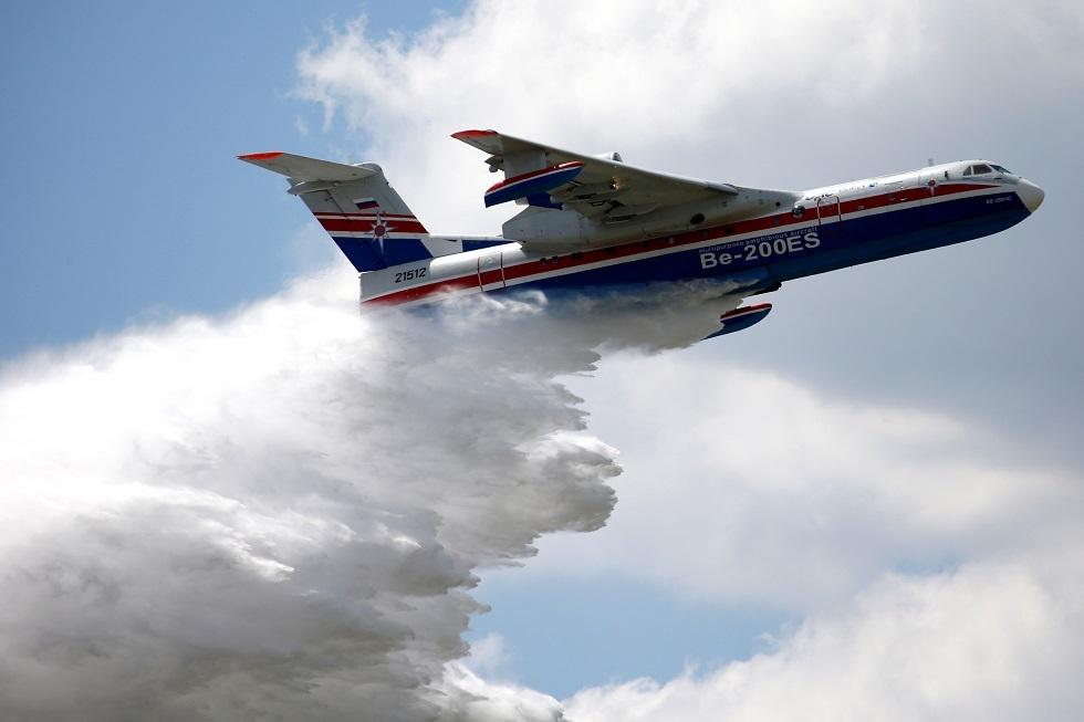 طائرة برمائية قاذفة للمياه روسية من طراز BERIEV-200