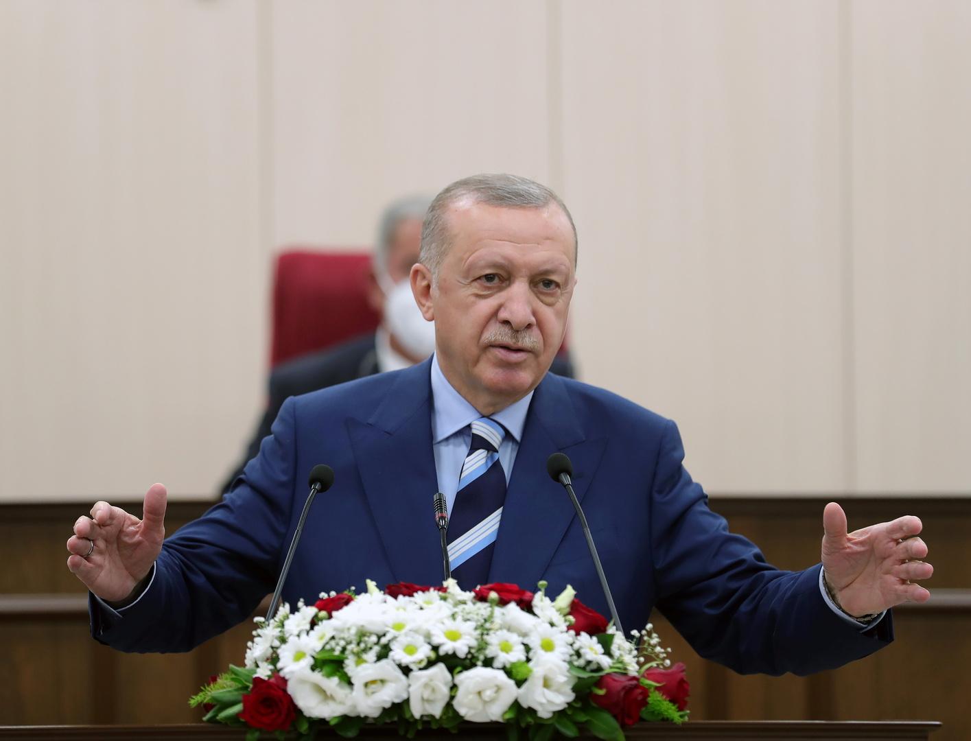 أردوغان يعرب عن استعداد بلاده للوساطة بين إثيوبيا والسودان