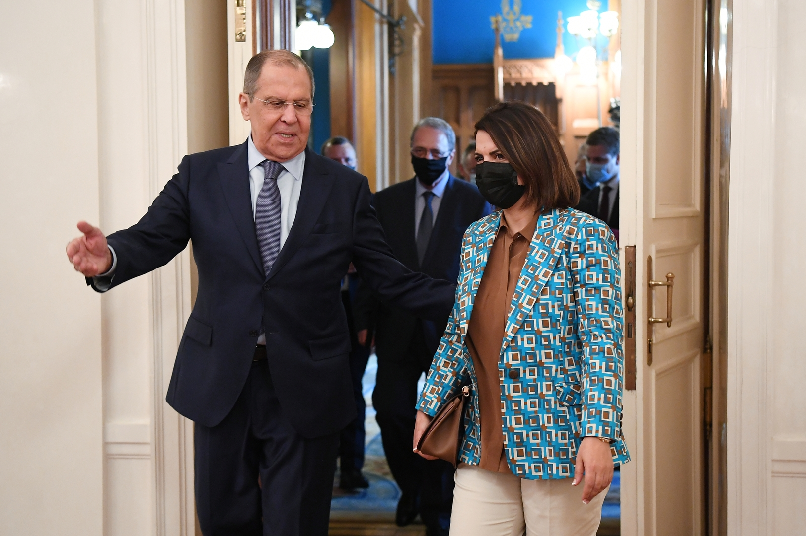 لافروف لنظيرته الليبية: نرى في زيارتكم إلى موسكو نية لبناء علاقات ذات أهمية أولوية مع روسيا