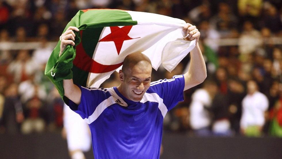 زيدان يقدم يد العون لضحايا بلده الأم الجزائر بمبلغ مالي كبير