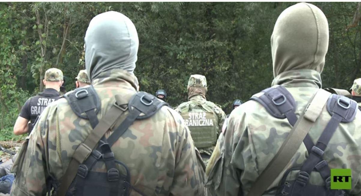 حرس الحدود البولندية تمنع تسلل مهاجـرين قادمين من بيلاروس