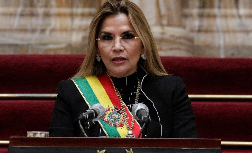 رئيسة بوليفيا السابقة جانين آنييز