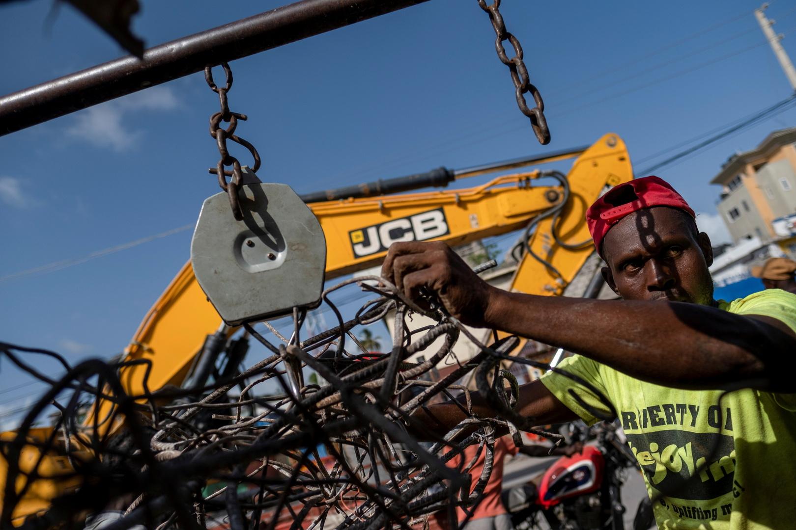 حصيلة ضحايا زلزال هايتي تتخطى 2.2 ألف قتيل