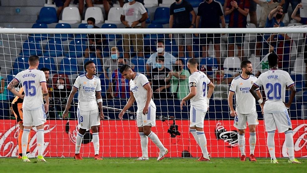 ريال مدريد ينجو من الهزيمة أمام ليفانتي في مباراة