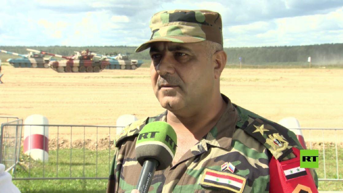 مشاركة سورية بمسابقة بياتلون الدبابات في مقاطعة موسكو