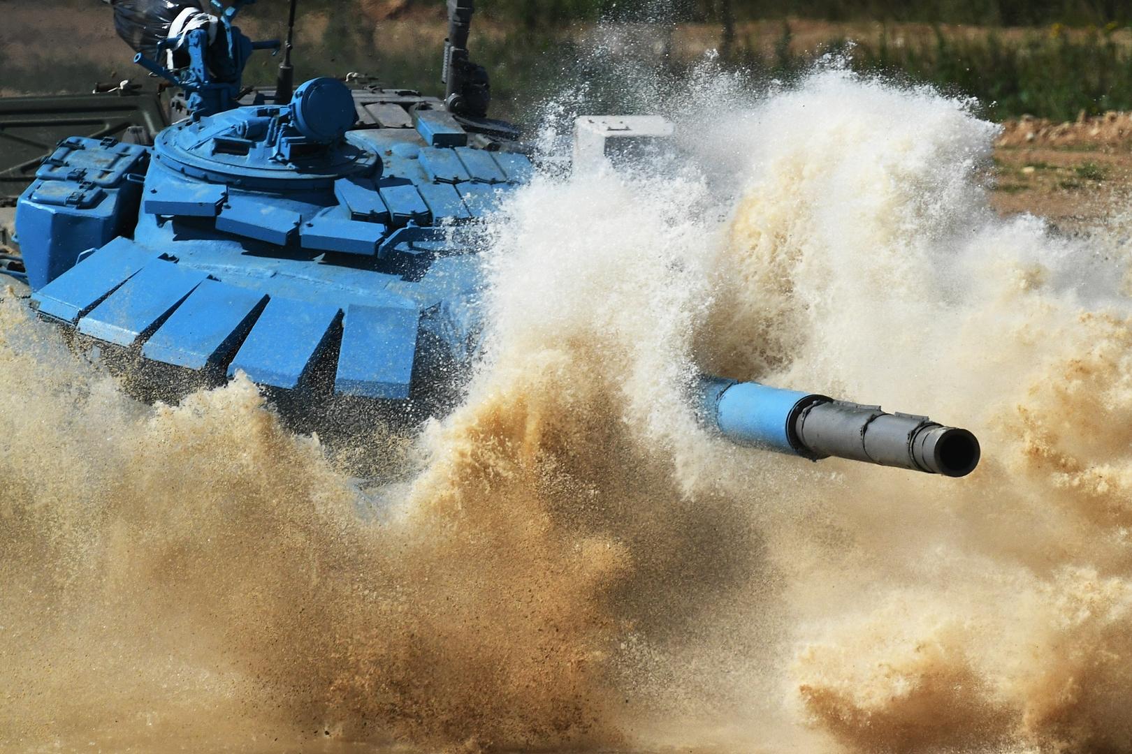 اليوم الثاني من بياتلون الدبابات ضمن ألعاب