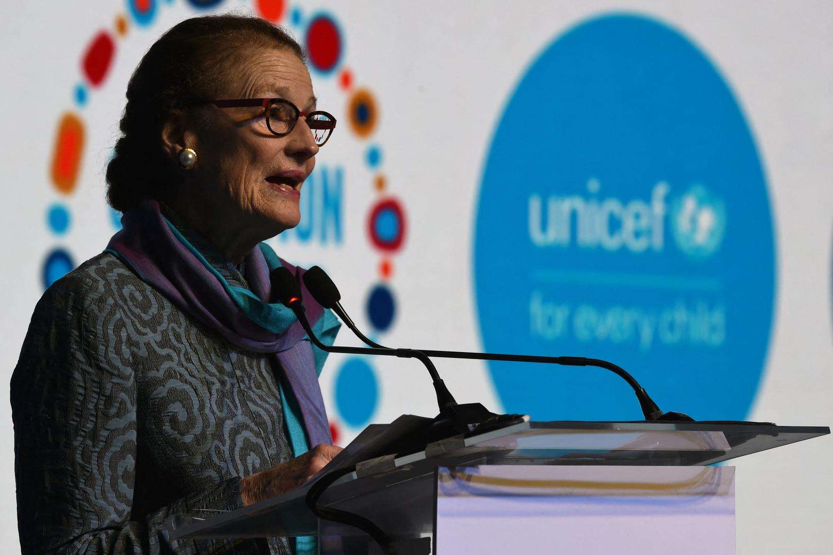 المديرة التنفيذية لمنظمة الأمم المتحدة للطفولة (اليونيسف) هنرييتا فور