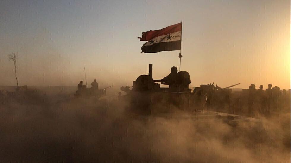 وحدات من الجيش السوري (أرشيف).