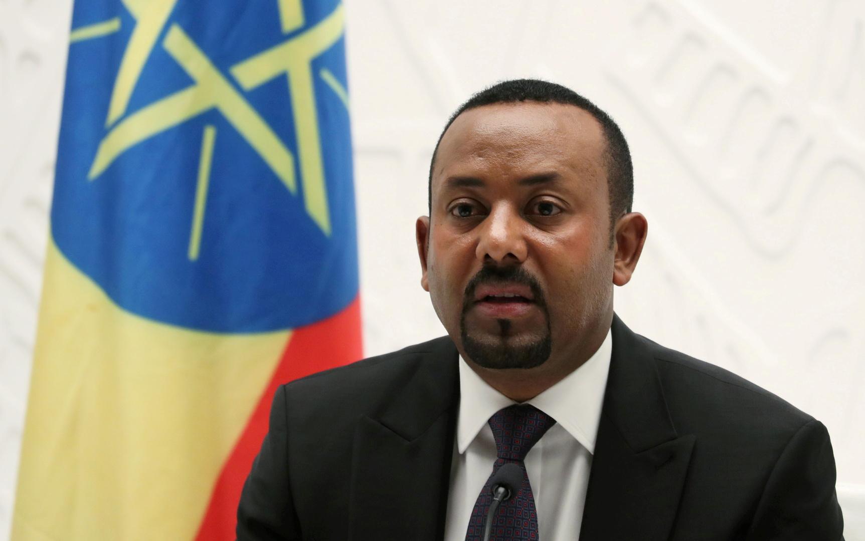 رئيس الوزراء الإثيوبي، أبي أحمد.