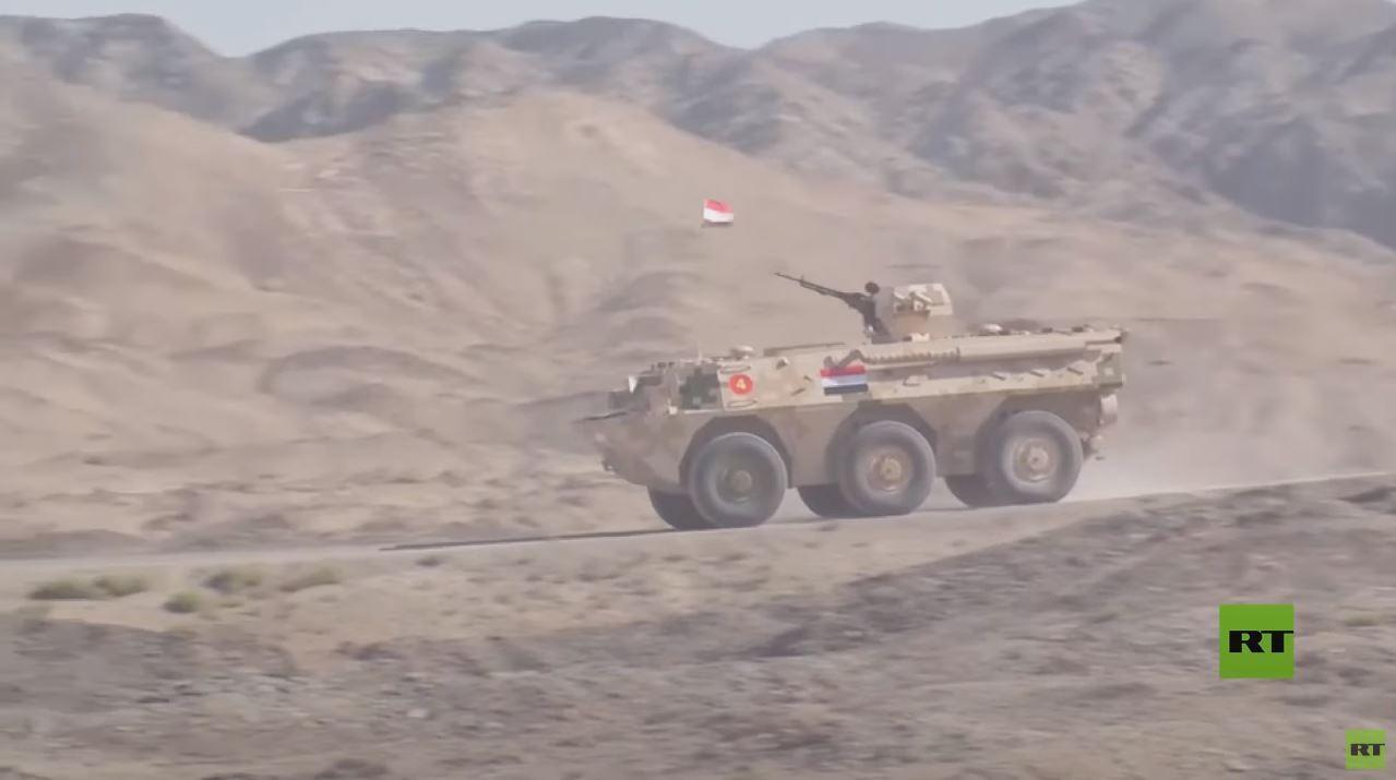 شاهد.. قوات مصرية توجه ضربات صاروخية دقيقة في الصين ضمن