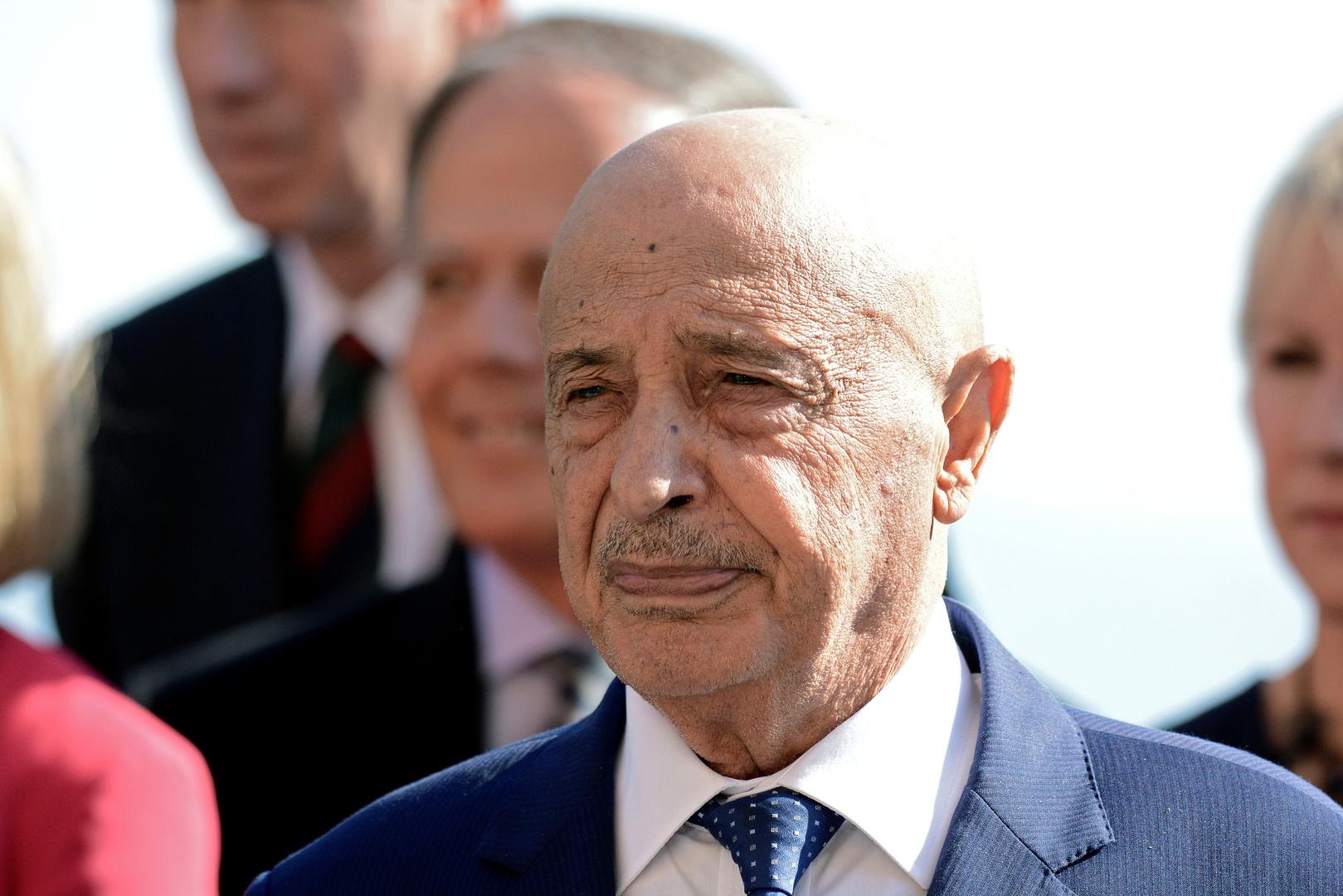 عقيلة صالح يلوح بسحب الثقة من حكومة الدبيبة إذا لم تحضر جلسة الاستجواب