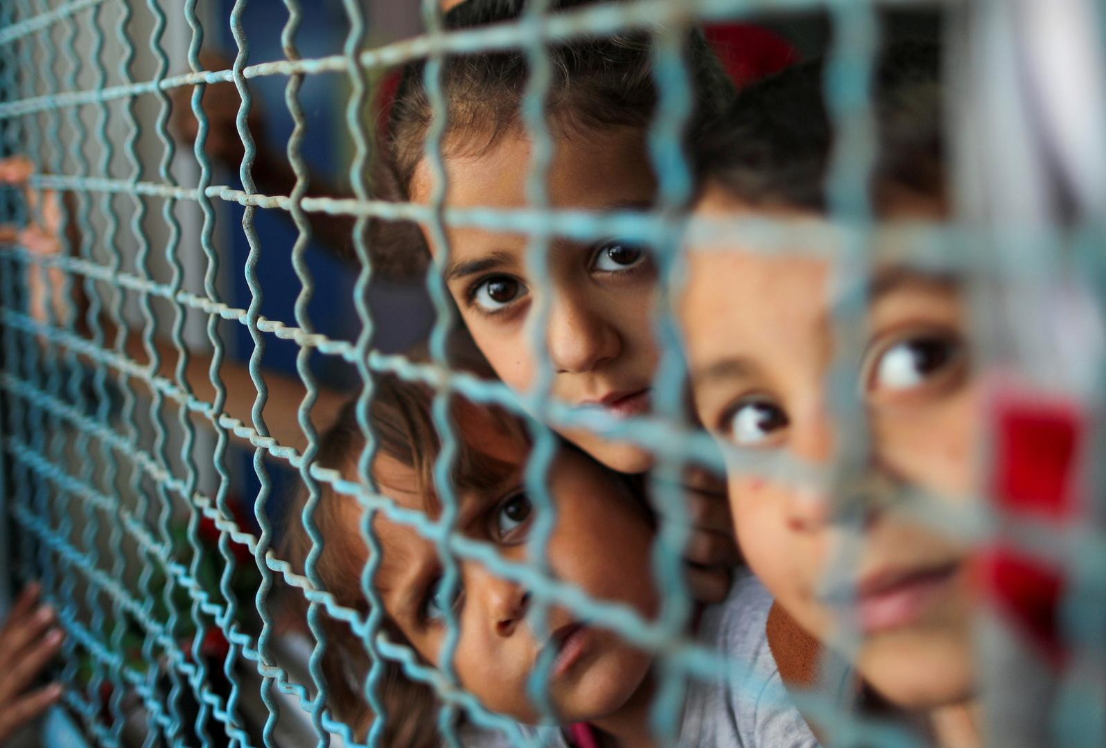 أطفال في غزة
