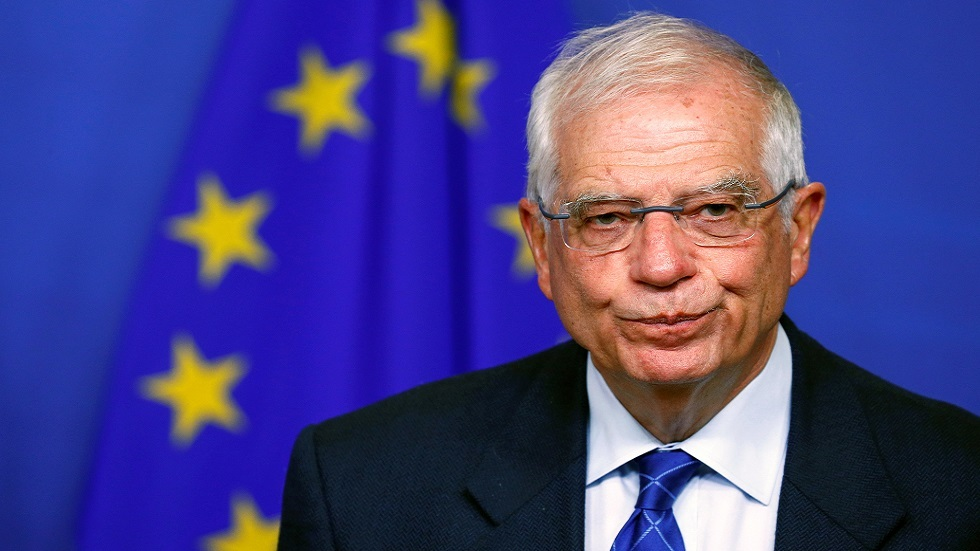 بوريل لعبد اللهيان: معنيون بتعزيز العلاقات مع إيران وننتظر منكم إعلان موعد استئناف مفاوضات فيينا