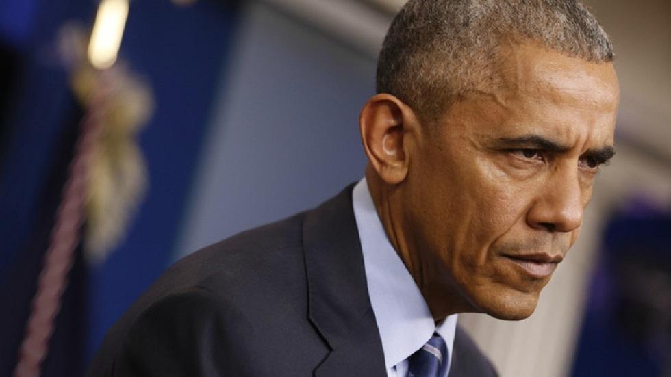 الرئيس الأمريكي الأسبق باراك أوباما