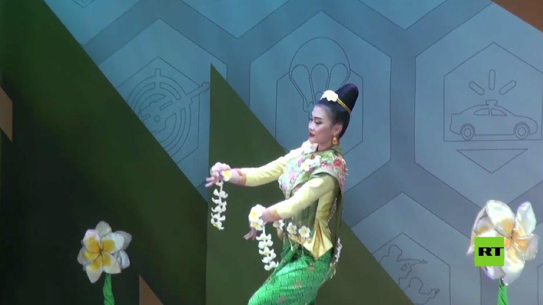 بالفيديو.. مسابقة الراقصين ضمن الألعاب العسكرية الدولية