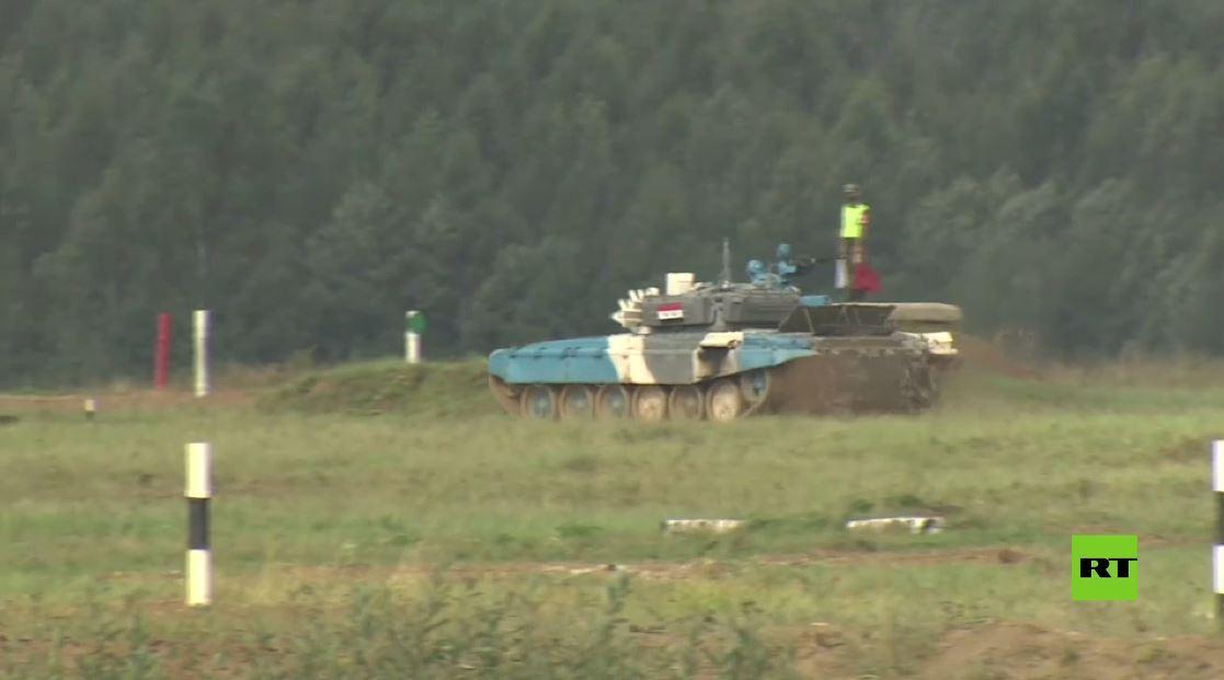 بياتلون الدبابات في روسيا..  تقدم الفريق المنغولي في اليوم الـ5 من المسابقة وسوريا في المرتبة الـ2