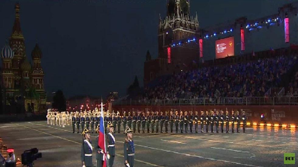 افتتاح مهرجان برج سباسكايا في موسكو