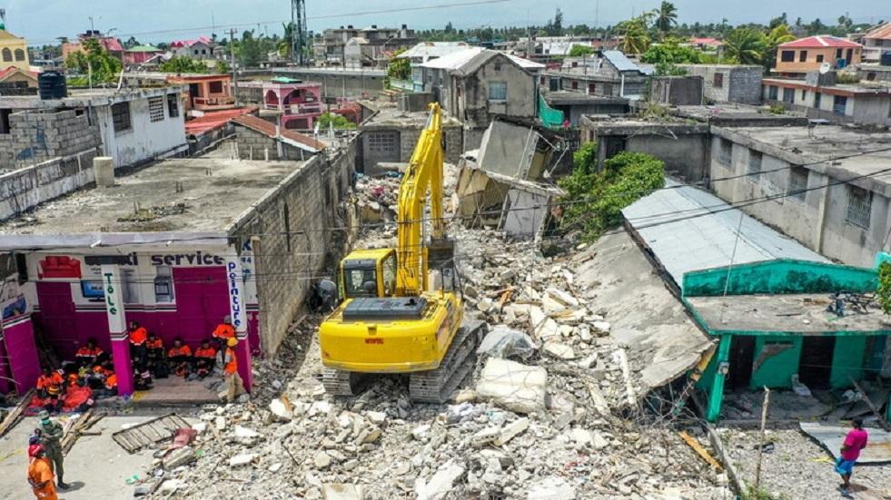 روسيا ترسل مساعدات إنسانية إلى هايتي بعد كارثة الزلزال