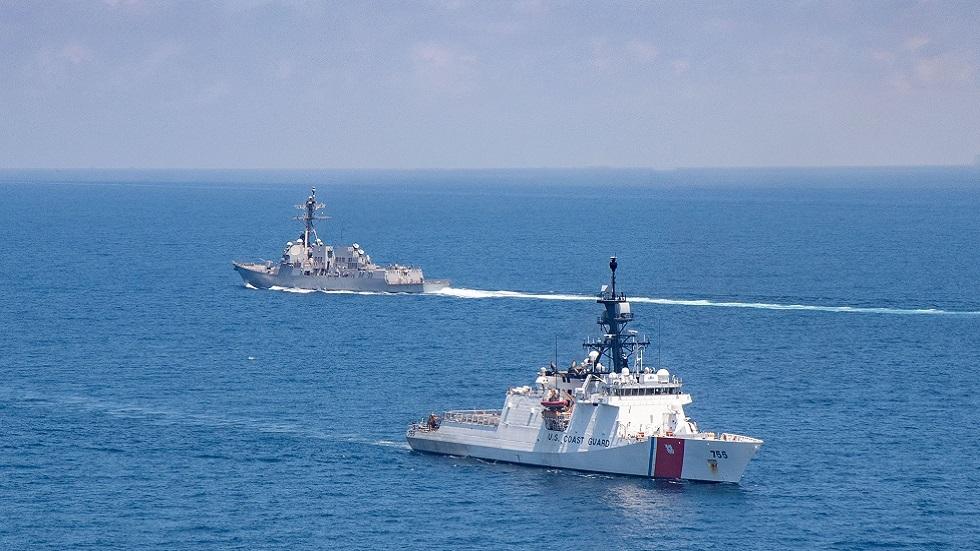الصين تحتج على مرور سفن أمريكية عبر مضيق تايوان