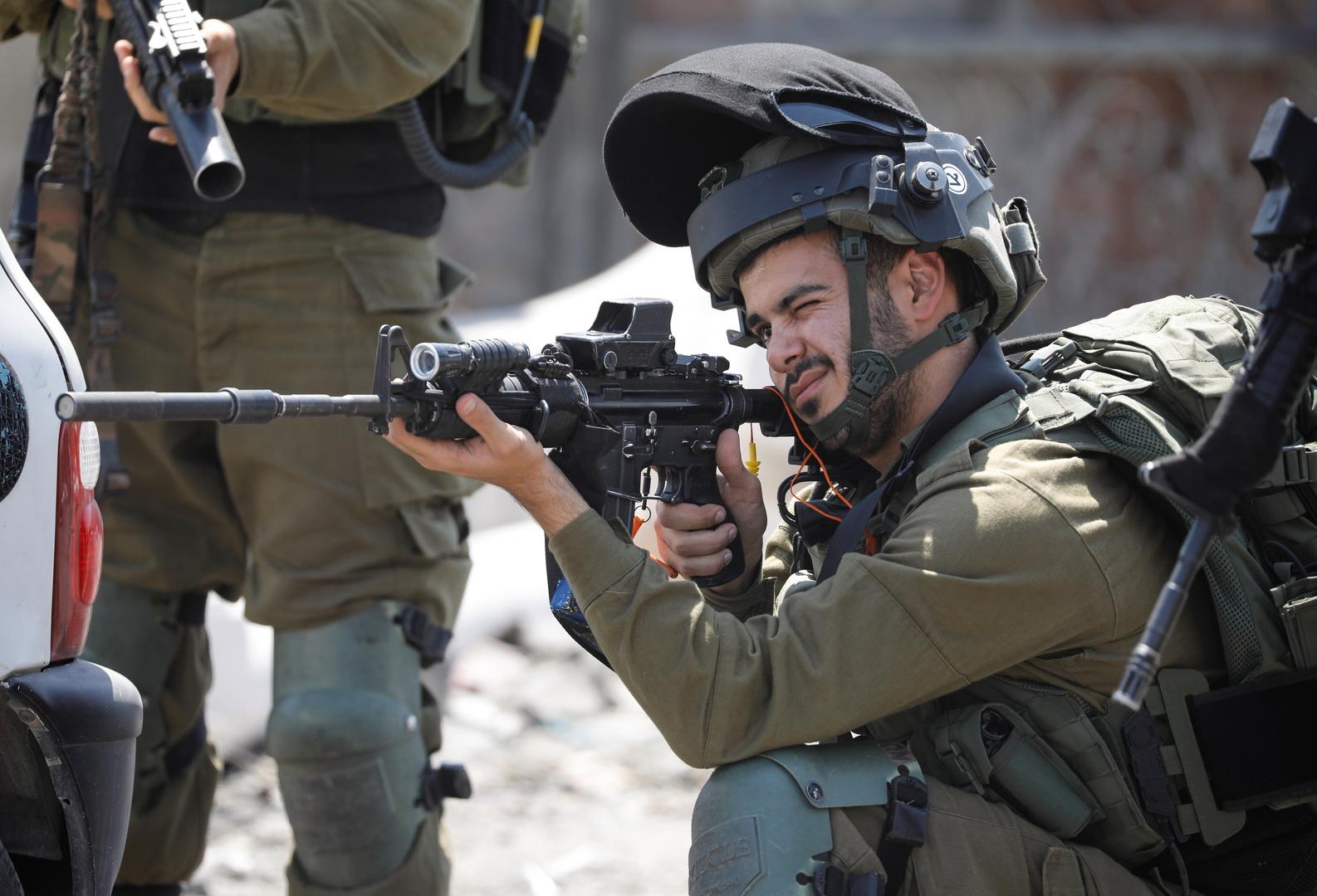 جندي اسرائيلي في الضفة الغربية