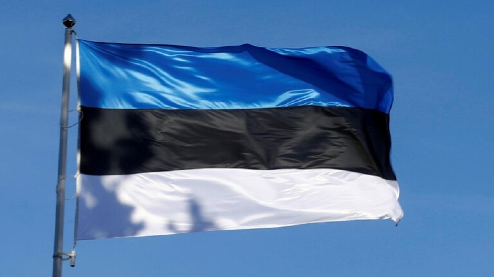 علم إستونيا