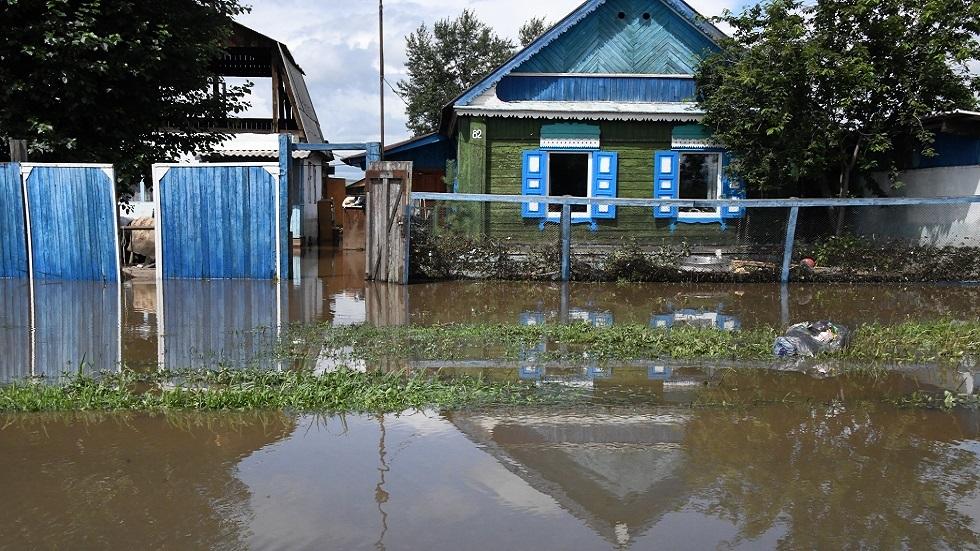 بورياتيا شرقي روسيا.. المياه تغرق قرى في أقوى فيضان منذ نحو 30 عاما