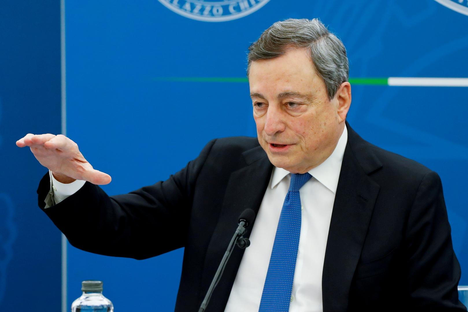 وسائل إعلام: إيطاليا أصرت على حذف بند حول عقوبات ضد