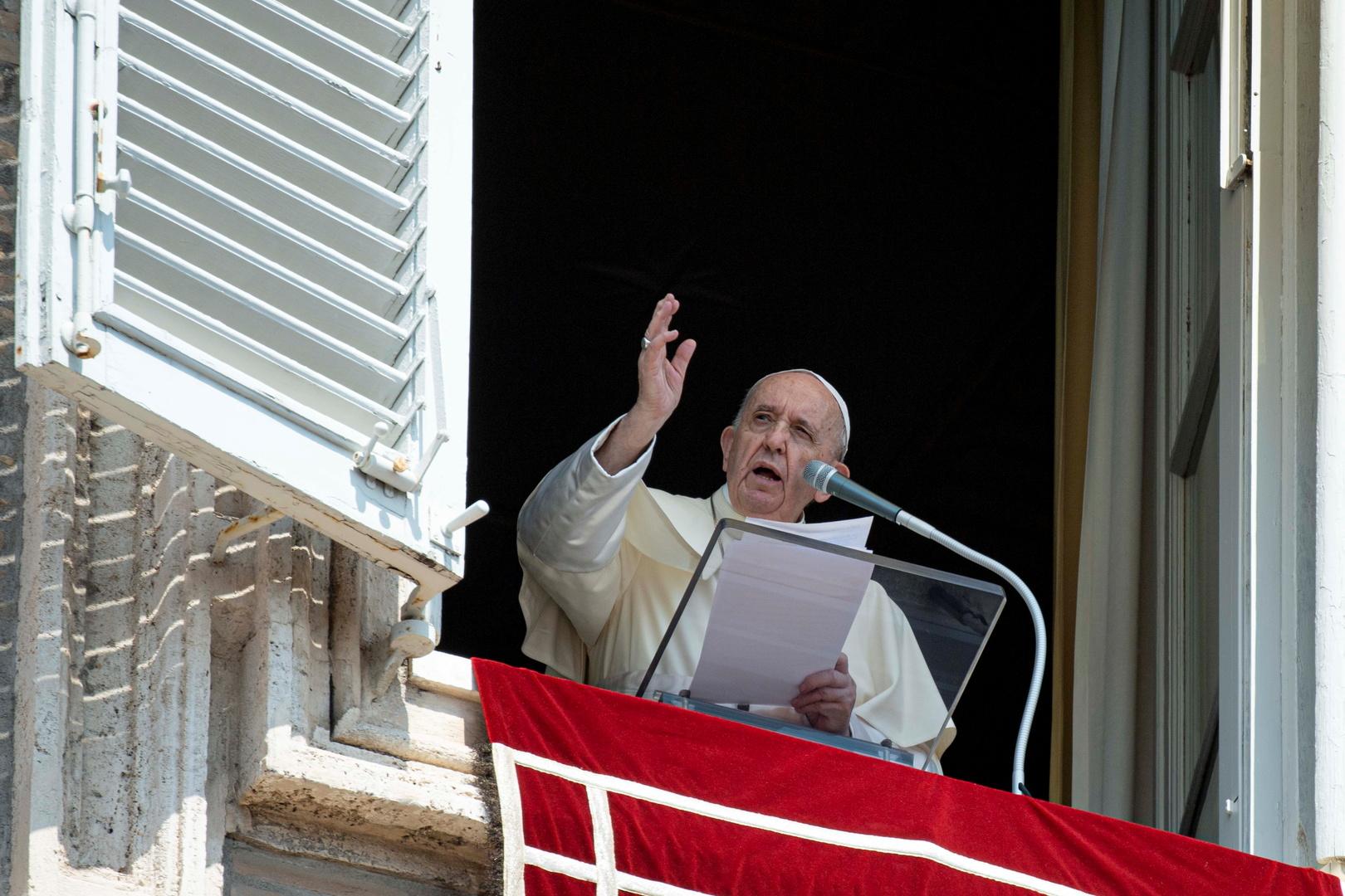 البابا فرنسيس يطلب من مسيحيي العالم الصلاة والصوم من أجل أفغانستان