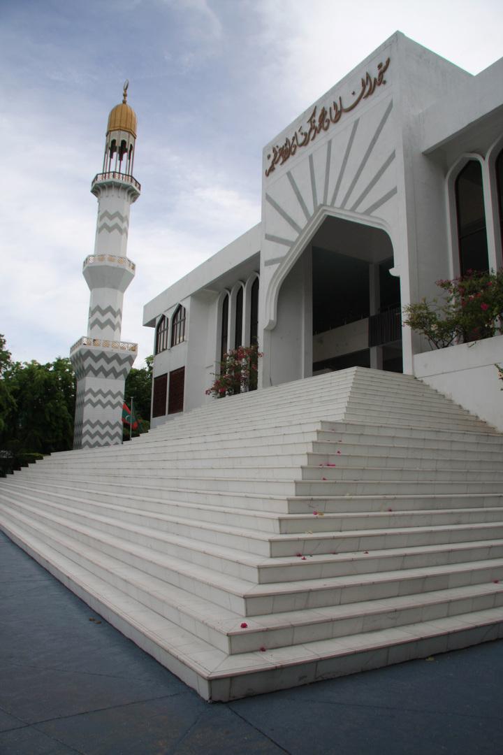 المالديف تتجهز لافتتاح مسجد